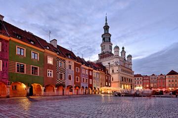 Fototapeta Market square, Poznan, Poland. obraz