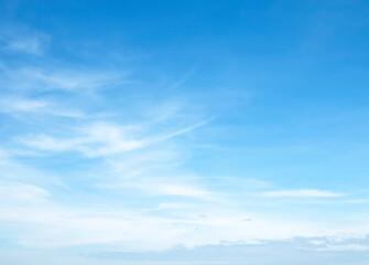Fototapeta  The vast blue sky and clouds sky obraz