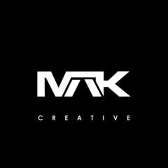 Obraz MAK Letter Initial Logo Design Template Vector Illustration - fototapety do salonu