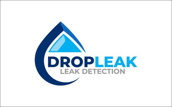 Illustration graphic vector of water leak detection service Logo Design template-10