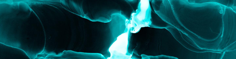 Biology Alcohol Ink. Creative Splash. Blue
