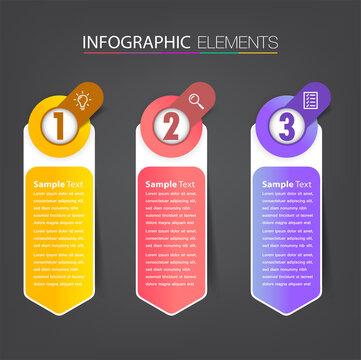 modern text box template, banner Infographics
