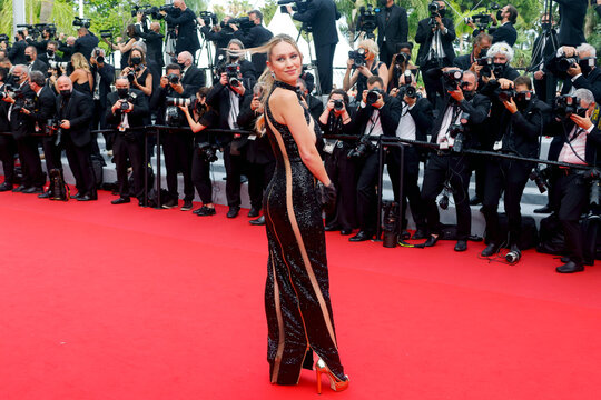 """The 74th Cannes Film Festival - Screening of the film """"The French Dispatch"""" in competition - Red Carpet Arrivals"""