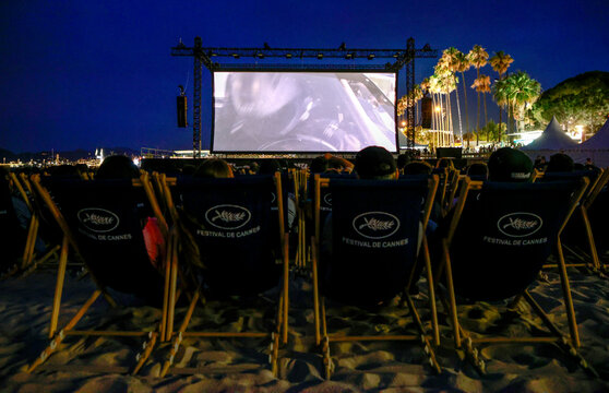 The 74th Cannes Film Festival - Beach front cinema screening