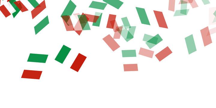 イタリア  国旗 空 背景