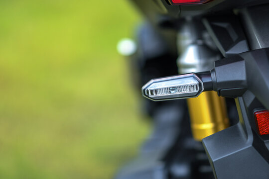 Motorcycle rear turn lights signal for motorcycle