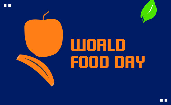 World Food Day vector template