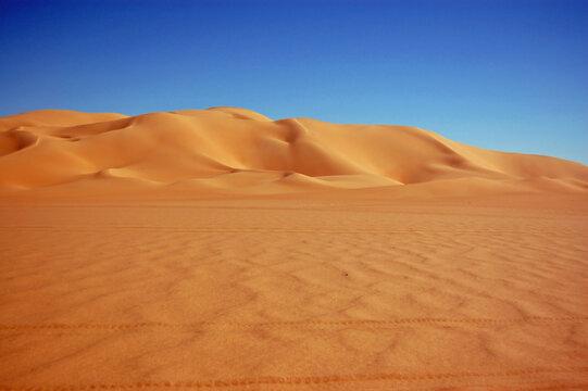 Golden sand dune, Ubari Sand Sea, Libya