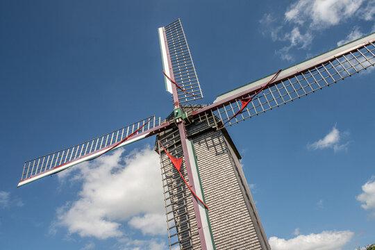 moulin de Boeschèpe dans les monts des Flandres