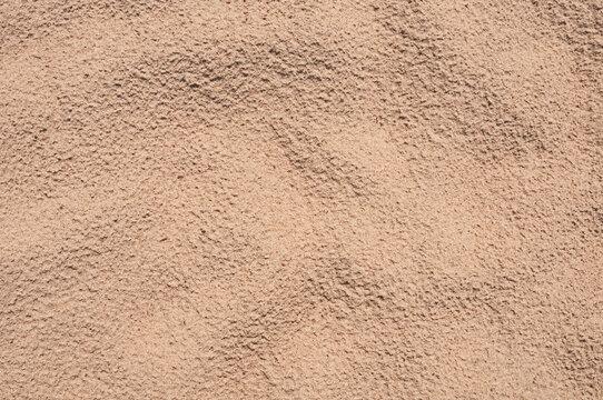 Sand on a beach as background