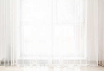Light curtains in empty room