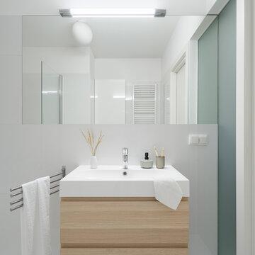 Simple and elegant lavatory