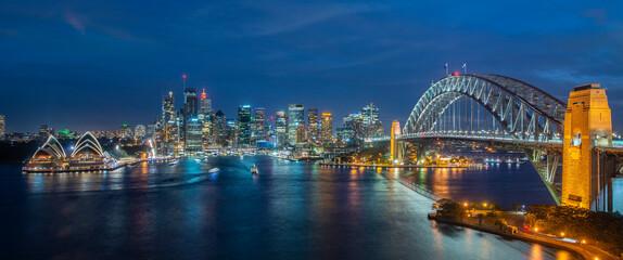 Fototapeta Cityscape image of Sydney obraz