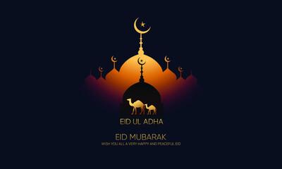Obraz Eid mubarak, Eid ul adha, luxury, Modern Design  - fototapety do salonu