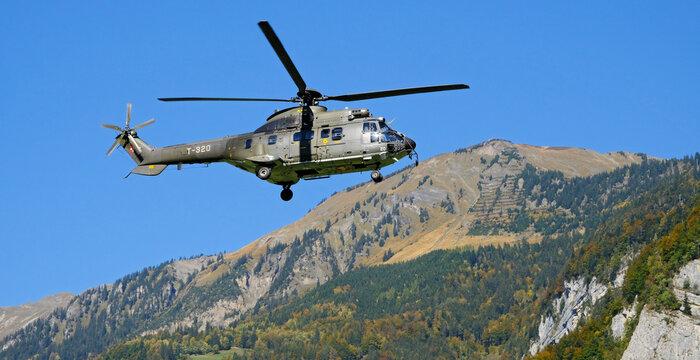 Aerospatiale AS-332M1 Super Puma, Switzerland Air Force, Meiringen, Switzerland