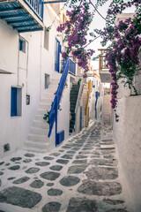 greckie miasto wąska uliczka