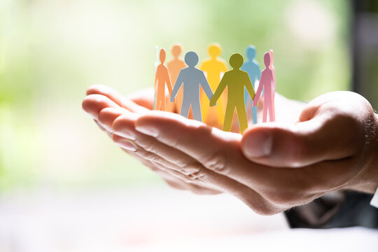 Diversity And Inclusion. Business Employment Leadership