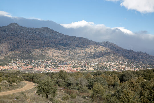 Pedriza and Manzanares el Real in Guadarrama National Park; Madrid