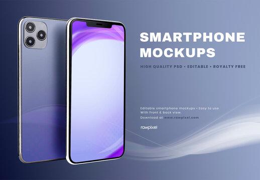 Mobile Screen Mockup Design