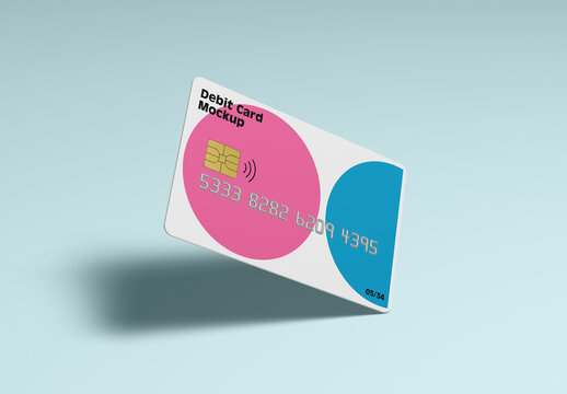 Debit Card Mockup