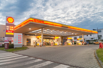 Posto de gasolina Shell