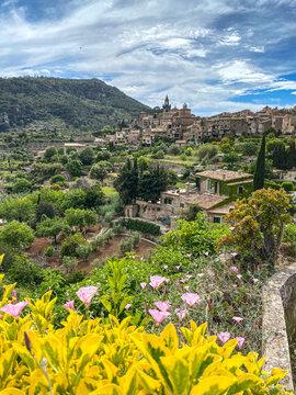 Valdemossa on Mallorca during springtime