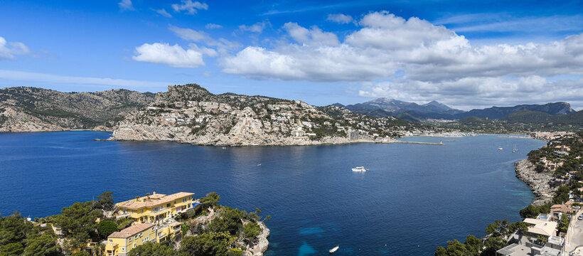 Bay of Port Andratx on Mallorca