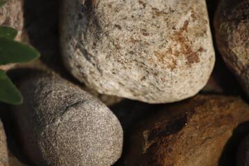 Obraz Kamienie dwa tło - fototapety do salonu