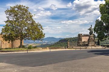 Fototapeta Orvieto, Włochy, miasto. obraz