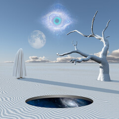 Obraz Desert of Silence - fototapety do salonu