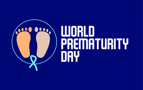 World Prematurity Day vector template