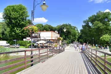 Fototapeta Park Solankowy, uzdrowisko, Inowrocław,  obraz