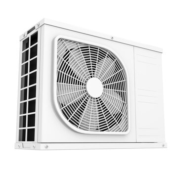 Air Conditioner Outdoor Unit Isolated