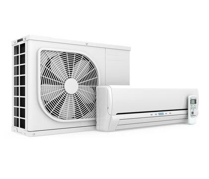 Air Conditioner Unit Isolated