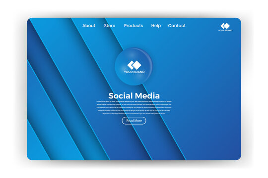 web page design templates for business, finance and marketing. Modern vector illustration concepts for website and mobile website development. Easy to edit and customize.