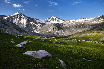 Fototapeta Beautiful landscape of the mountains obraz