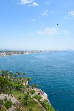 Europe Espagne Peniscola mer océan vacances plages soleil été