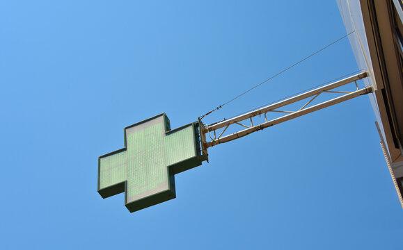 pharmacie pharmacien médicament garde santé enseigne