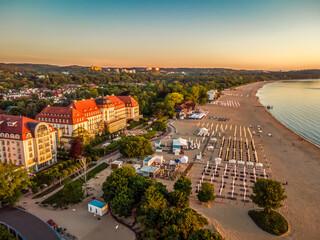Fototapeta Plaża Sopot obraz
