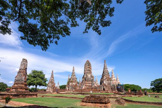 Wat Chaiwatthanaram at Ayutthaya Province, Thailand.