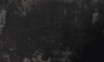 Fototapeta Abstract grungy Decorative black wall background with old distressed vintage grunge texture. pantone of the year color concept background with space for text. Fit for basis for banners, wallpapers obraz