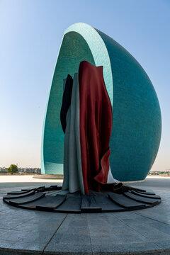 Martyrs Memorial (Al Shaheed Monument), Baghdad, Iraq