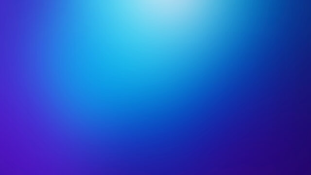 Vivid Blue Defocused Blurred Motion Gradient Abstract Background, Widescreen