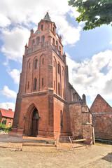 Fototapeta Kościół Świętej Klary w Dobrej, Polska  obraz