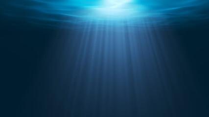 Fototapeta underwater world background obraz