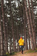 Obraz Man going for morning run in the park - fototapety do salonu