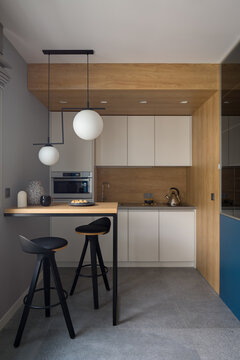 Small and modern kitchen