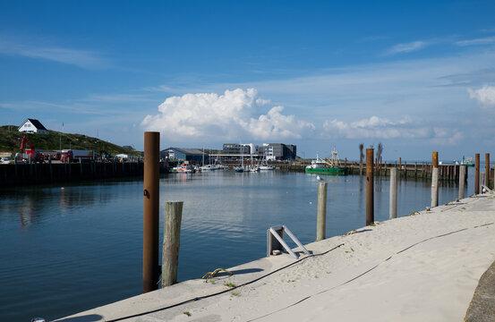 Fischereihafen und Yachthafen von Hörnum auf Sylt.