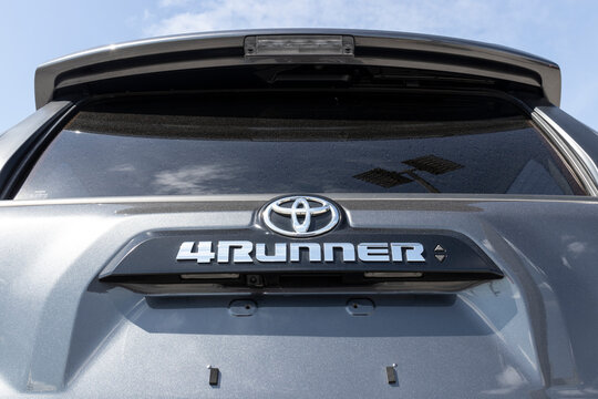 Toyota 4 Runner display. Toyota is a popular brand among auto buyers because of its reliability, fuel mileage and commitment to reducing emissions.
