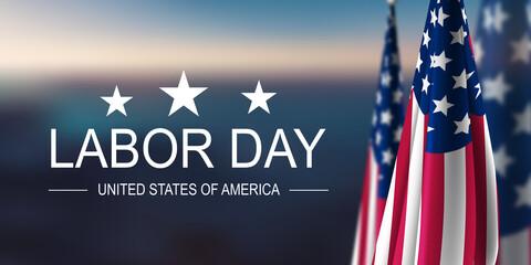 Fototapeta Labor Day USA obraz